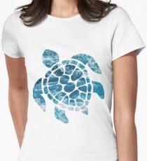 Ocean Sea Turtle Women's Fitted T-Shirt