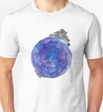 watercolor world  Unisex T-Shirt
