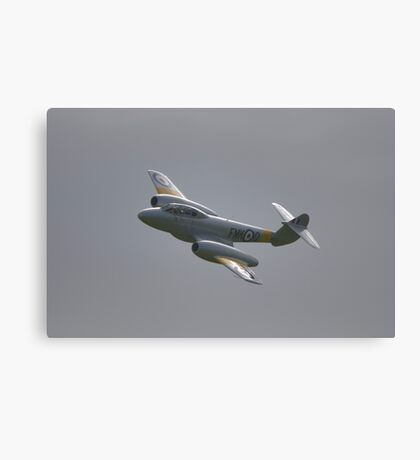 Gloster Meteor T7 Canvas Print