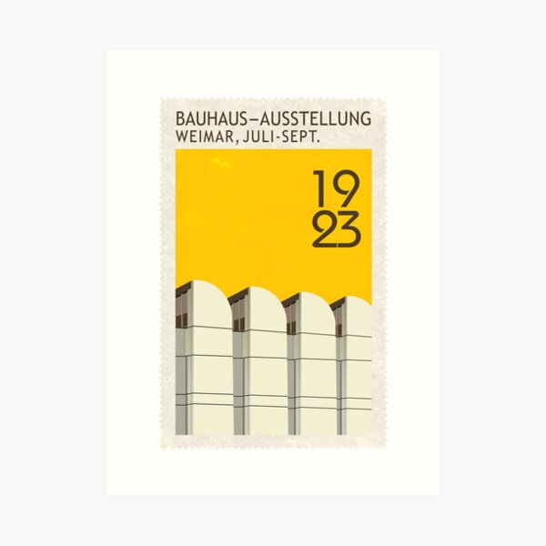 Bauhaus Archive Art Print
