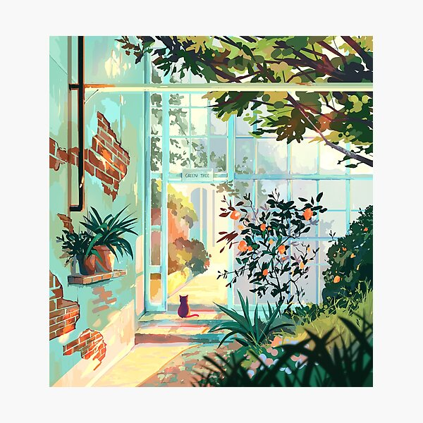Green House Photographic Print