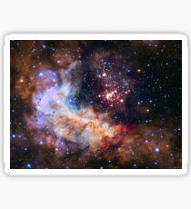 Deep Space Nebula Galaxy Sticker