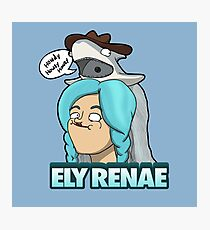 Howdy! It's Ely Renae! Photographic Print