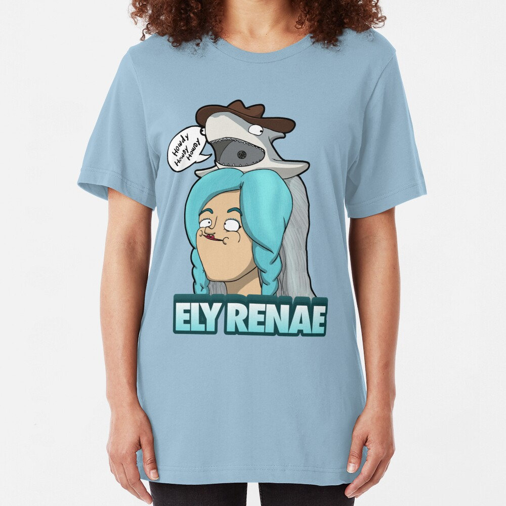 Howdy! It's Ely Renae! Slim Fit T-Shirt