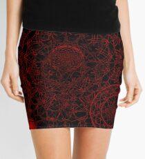 Magic Madness (Red & Black) Mini Skirt