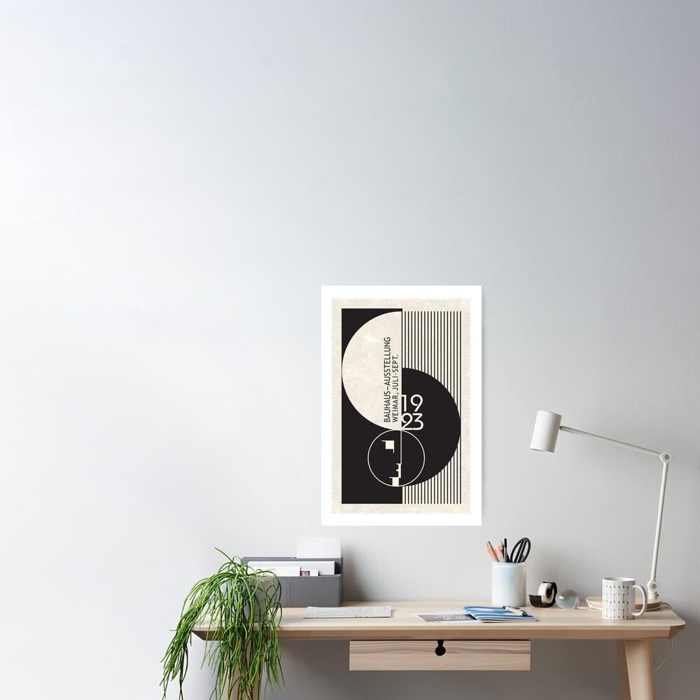 Bauhaus Exhibition Art Poster