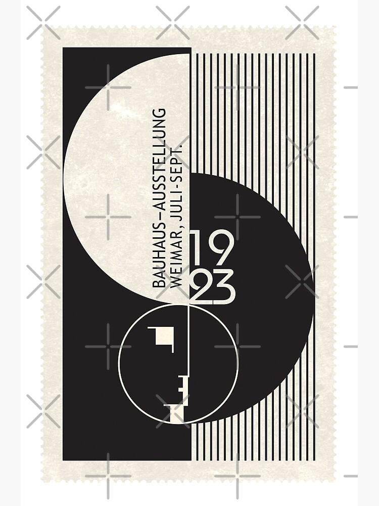 Bauhaus Exhibition Art by SurfolioPrints