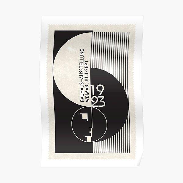 Art d'exposition du Bauhaus Poster