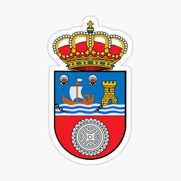Escudo de armas de la bandera de Cantabria Pegatina