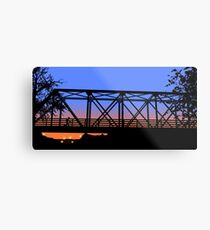 One Tree Hill Bridge Metal Print
