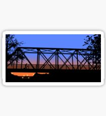 One Tree Hill Bridge Sticker