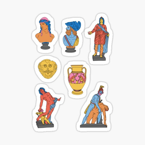 The Iliad Sheet Sticker