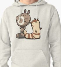 Furry Ferrets Pullover Hoodie