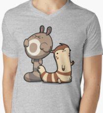 Furry Ferrets Men's V-Neck T-Shirt