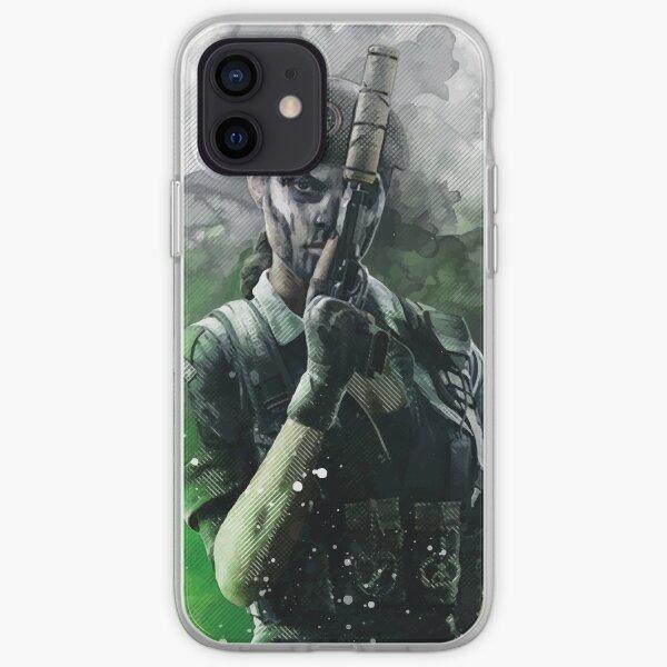 Arc-en-ciel Caveira Coque souple iPhone