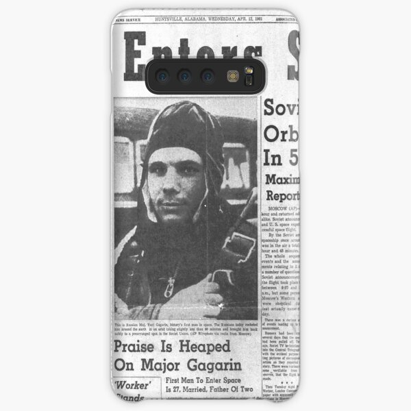Man Enters Space. Soviet Officer Orbits Globe In 5-Ton Ship Samsung Galaxy Snap Case