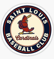 cardinals old Sticker