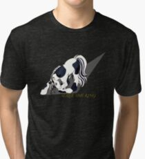Bullet the Solider pony Tri-blend T-Shirt