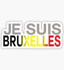 Je suis Bruxelles Sticker