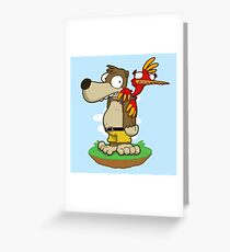 Banjer & Kazooper! Greeting Card