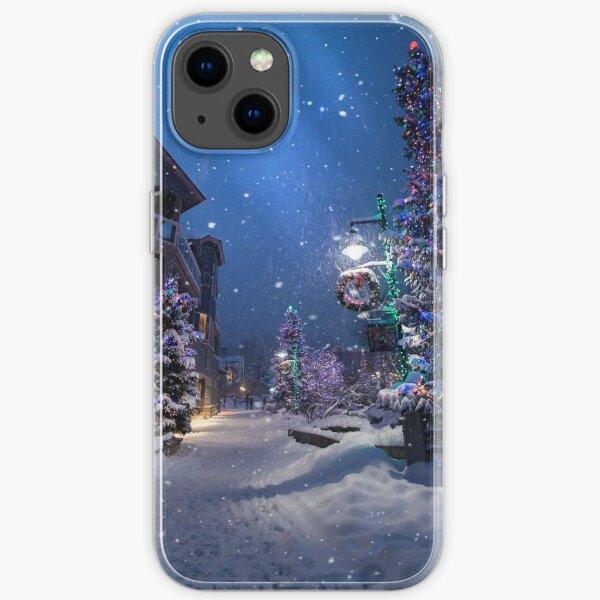 Cas du pays des merveilles de Noël Coque souple iPhone