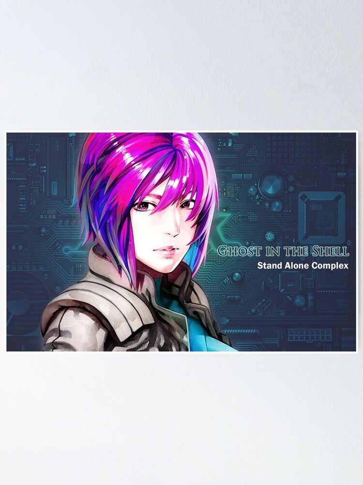 Ghost In The Shell Poster By Keepdreaming Redbubble