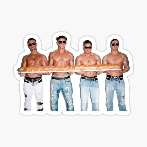 garçons de la rive du maillot Sticker