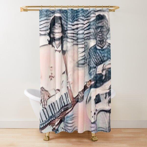 Modern Talking Shower Curtain