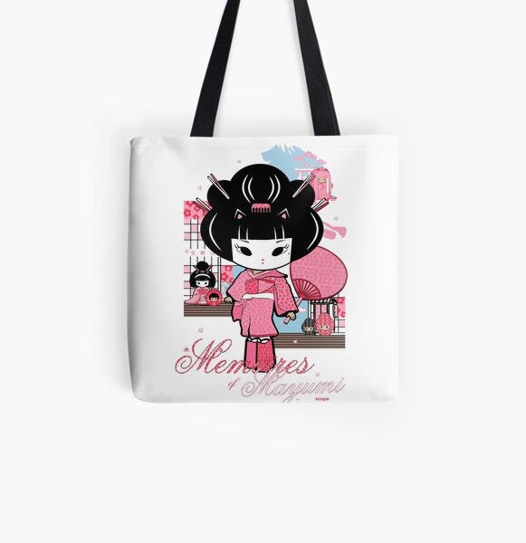Memoirs Of Mayumi All Over Print Tote Bag