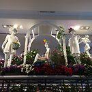 Mannequins, Flowers, Macys Flower Show 2016, Macys New York City  by lenspiro