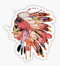 Indie skull Sticker