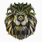 Irie Lion by AmitArt