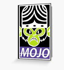MOJO Greeting Card
