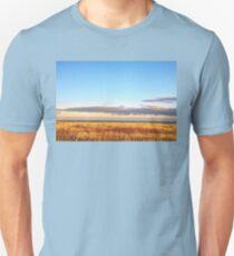 Sunset on Golden Field - Aberdeenshire, Scotland Unisex T-Shirt