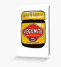Vegemite- Australia Greeting Card
