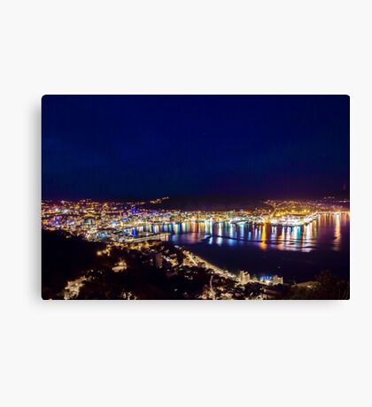 Wellington at the Crack of Dawn Canvas Print
