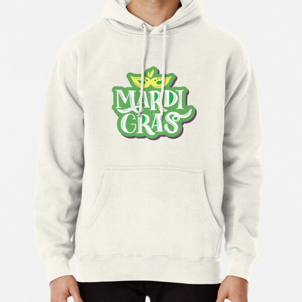 Mardi Gras Costume for 2021 Pullover Hoodie