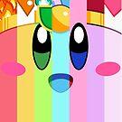 Kirby und seine vielen Gesichter von B-Shirts