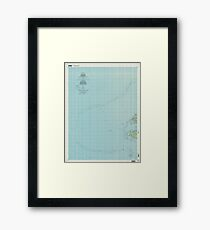 USGS TOPO Map Federated States of Micronesia FM Unikappi 463205 1997 25000 Framed Print