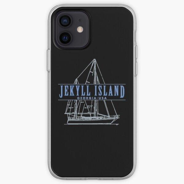Jekyll Island Georgia souvenir sailing iPhone Soft Case