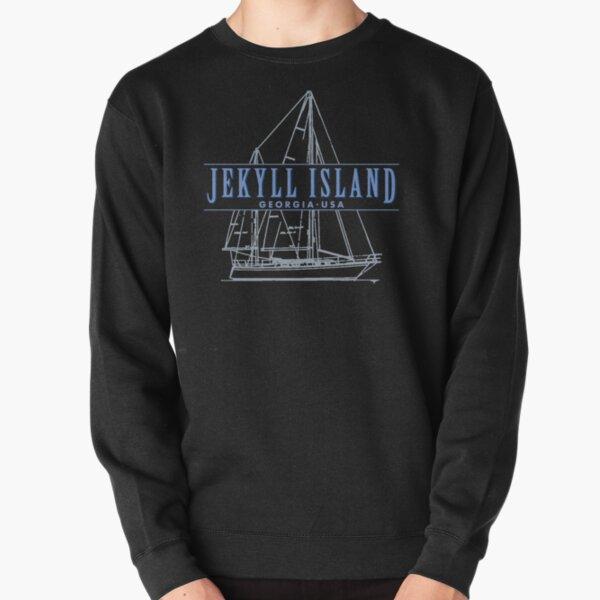 Jekyll Island Georgia souvenir sailing Pullover Sweatshirt