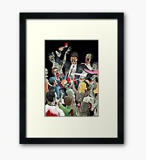 Jules Vs The Undead Framed Print