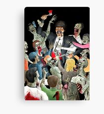 Jules Vs The Undead Canvas Print