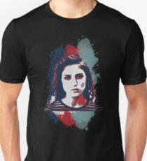 STENCIL PORTRAIT Unisex T-Shirt