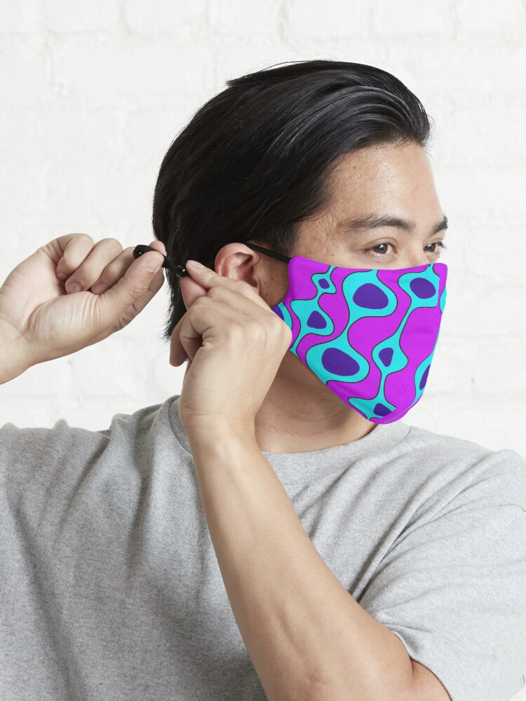 Alternate view of 50's Style Blobs 2.0 Mask