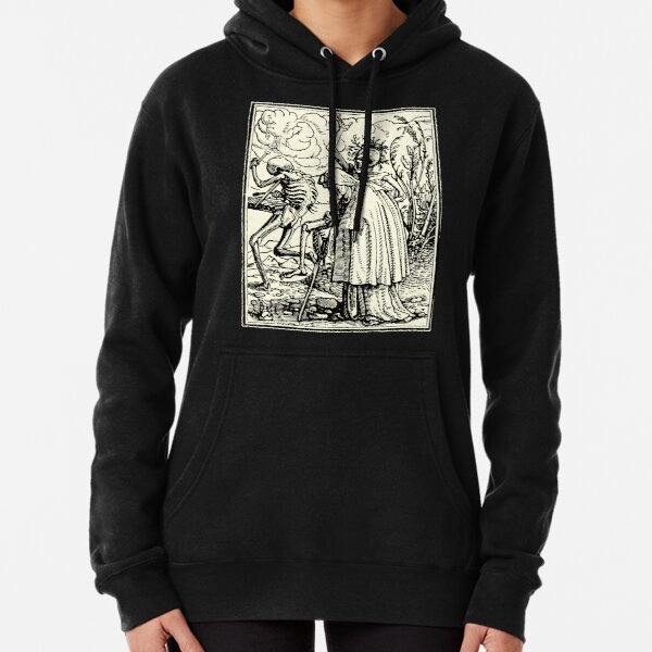 Dance of Death, Dance of macabre (Holbein) Pullover Hoodie