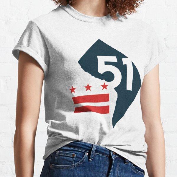 dc statehood  Classic T-Shirt