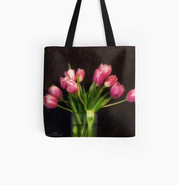 Spring All Over Print Tote Bag