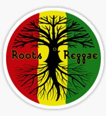 ROOTS REGGAE Sticker
