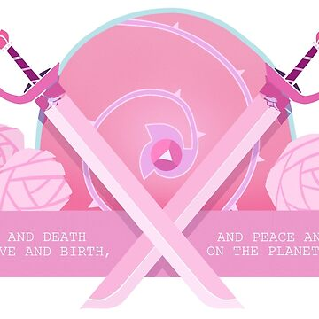 Steven Universe - Rose Quartz  by jellyfrill